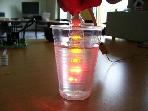 схема со светодиодами,
