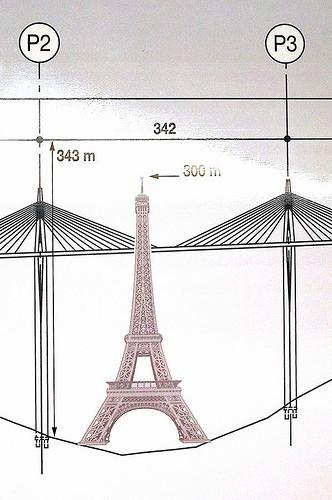 Самый высокий мост мира - Millau Viaduct